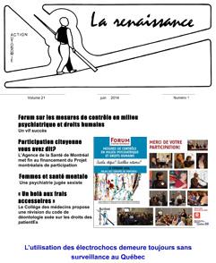 La Renaissance - Juin 2014 - vol. 21 no. 01