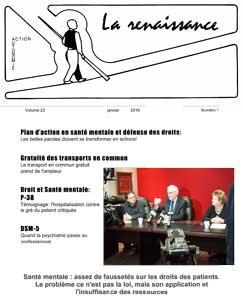 La Renaissance - Janvier 2016 - vol. 23 no. 01