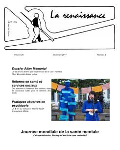 La Renaissance - Décembre 2017 - vol. 24 no. 02