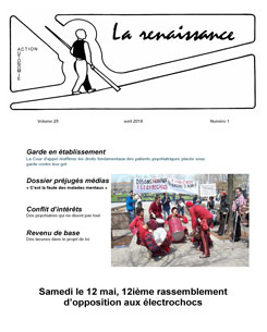 La Renaissance - Avril 2018 - vol. 25 no. 01