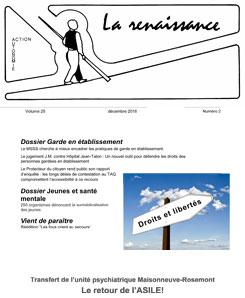La Renaissance - Décembre 2018 - vol. 25 no. 02